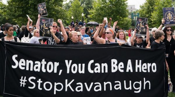 protest aganst kavanaugh senator be a hero ny times e1538324387410