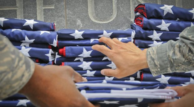 Iraq Veterans, Military Families To Give Bush, Biden Folded Flags And Freedom Medal On Veterans Day