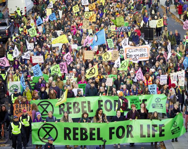 The Global Extinction Rebellion Begins | PopularResistance.Org