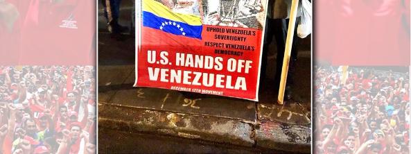 Emergency Demonstration: Stop Trump's Coup In Venezuela