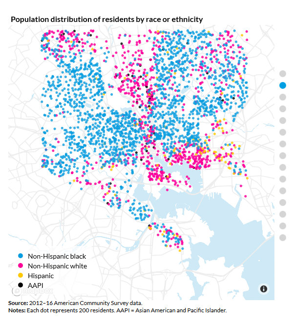 In Baltimore, Money Still Follows The Segregation Map ... on demographic map california, demographic map detroit, historical map of baltimore, historic map of baltimore, political map of baltimore, cultural map of baltimore, crime map of baltimore, demographic map maryland, socioeconomic map of baltimore, demographic map texas, economic map of baltimore, ethnic map of baltimore, income map of baltimore, regional map of baltimore, racial map of baltimore, topographical map of baltimore, community map of baltimore, demographic map dc, demographic map denver, physical map of baltimore,