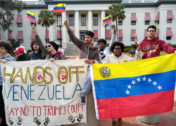 National March On Washington: Hands Off Venezuela!