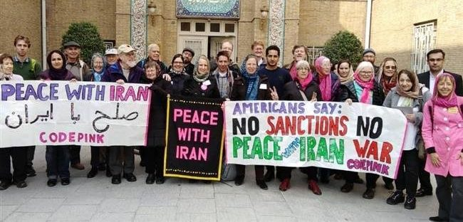 Peace Delegation to Iran at the Iranian Foreign Ministry, February 2019, From InText