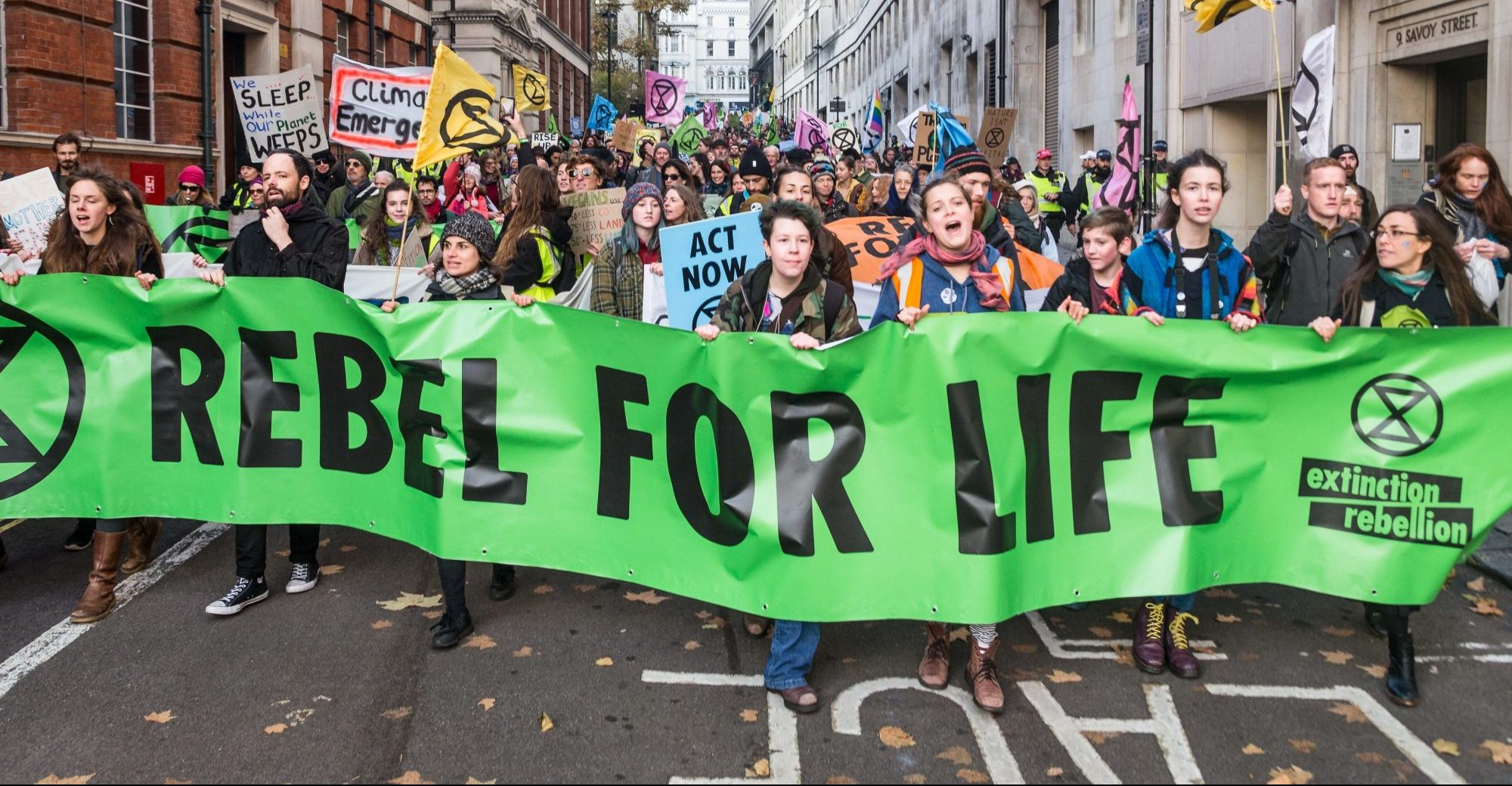Extinction Rebellion US Week Of Action