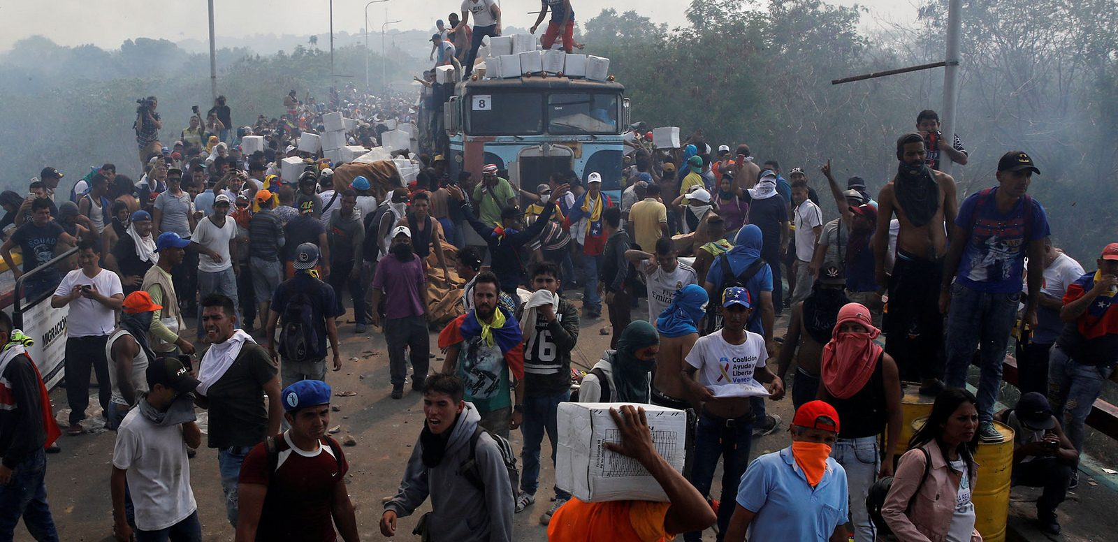 Claims That Venezuelan Military Burned Aid Truck Exposed As Imperialist Propaganda