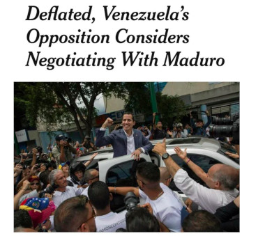 Venezuela – After Opposition Support 'Deflated' – U.S. Targets Food Aid Supply