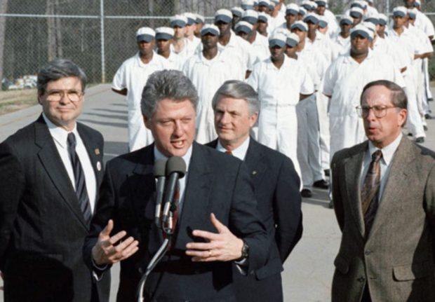 bill clinton at stone mountain correctional facility georgia 1992. e1562427241216