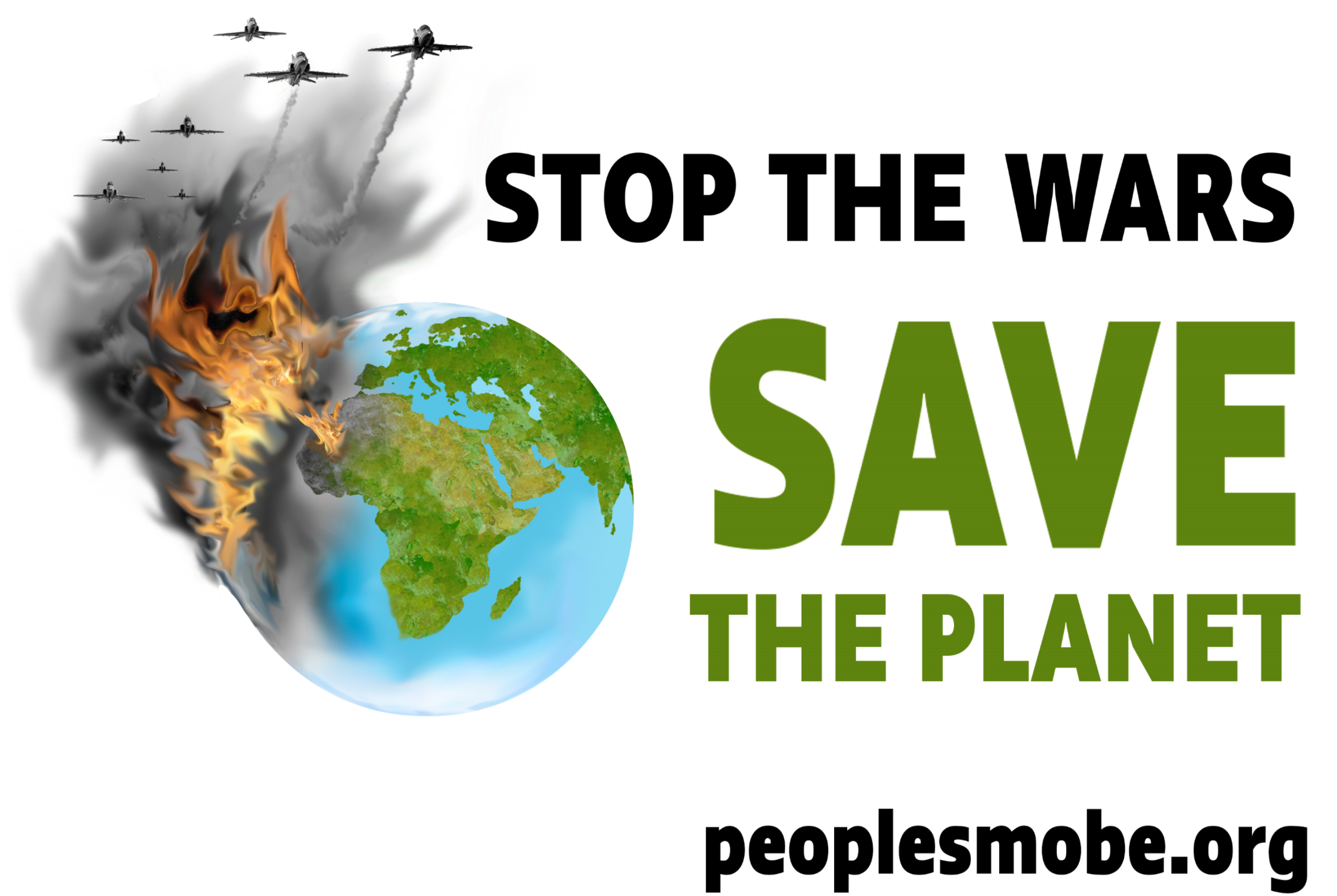 The People's Mobilization To Stop The US War Machine, Save The Planet Begins