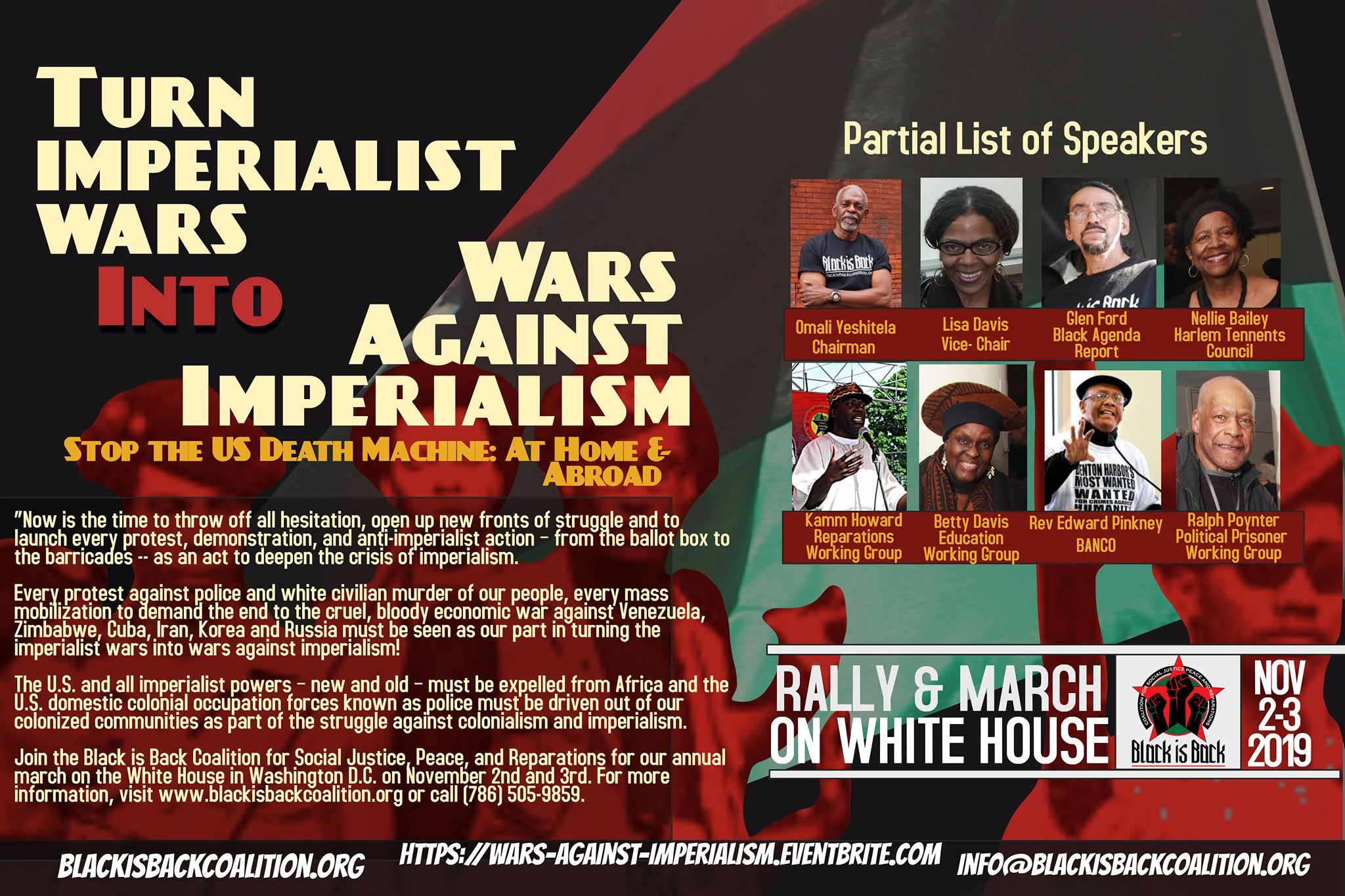 March On The White House: Turn Imperialist Wars Into Wars Against Imperialism