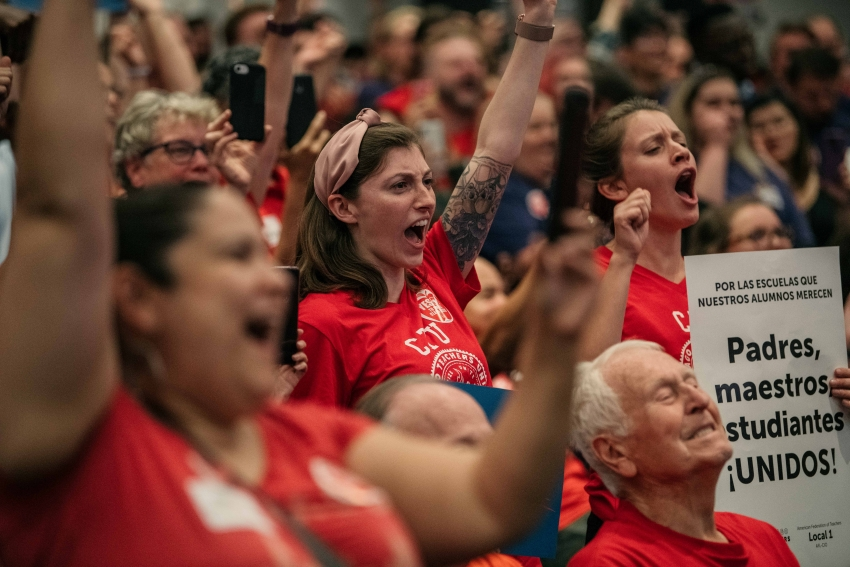 What's At Stake In Chicago Teachers' Strike: Whether Unions Can Bargain For The Entire Working Class