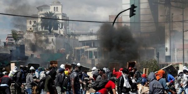 Ecuadorian Protests Against President Moreno Continue, Face Police Repression