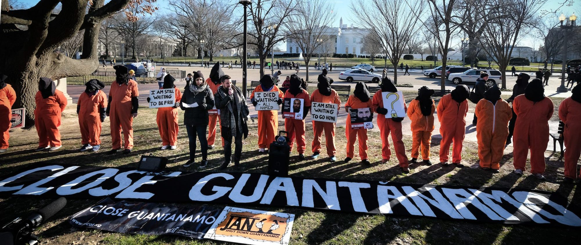 Fast For Justice To Close Guantanamo