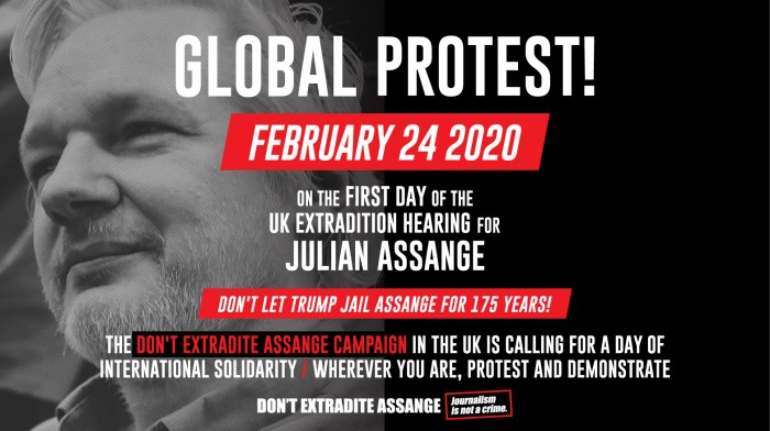 Global Protest: Free Assange