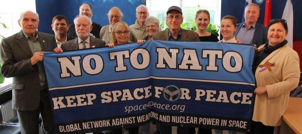 From, the Global Network Against Weapons and Nuclear Power in Space, From InText