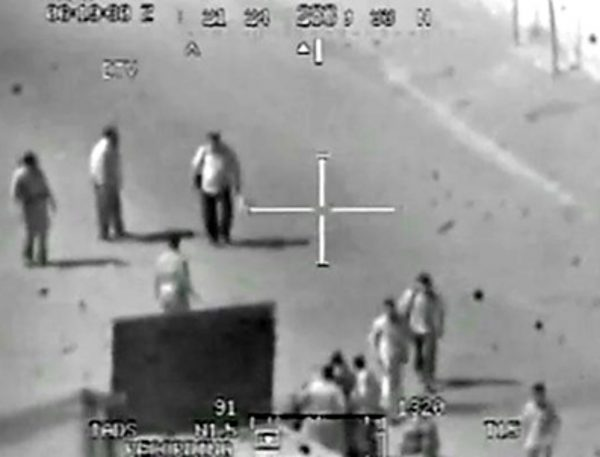 video showing drone murder of journalists