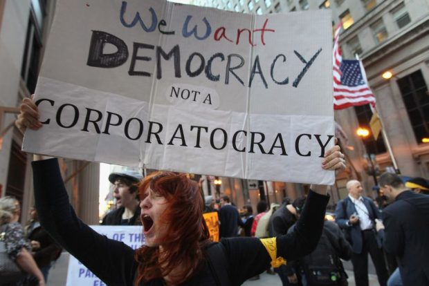 we want democracy not a corporatocray getty images e1598212231666